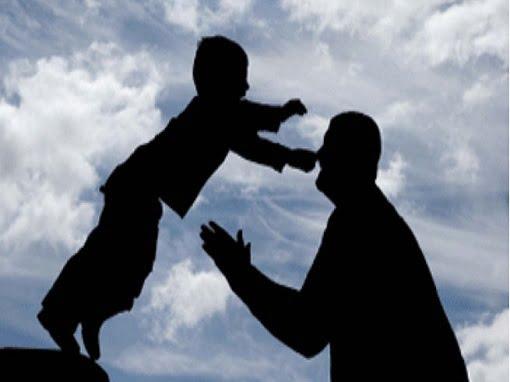 fiducia uomo bambino